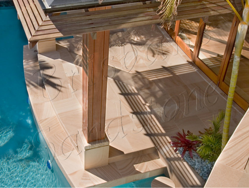 Traditional Brown Sandstone Tiles Gold Coast