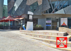 Federation Square Melbourne Sandstone Block Pavers